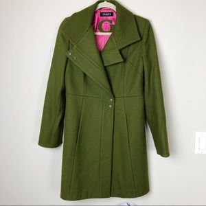 Guess Jackets & Coats - Stunning Guess army green wool winter coat size M